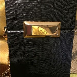 Genuine Leather Mini Purse. NEW Never used